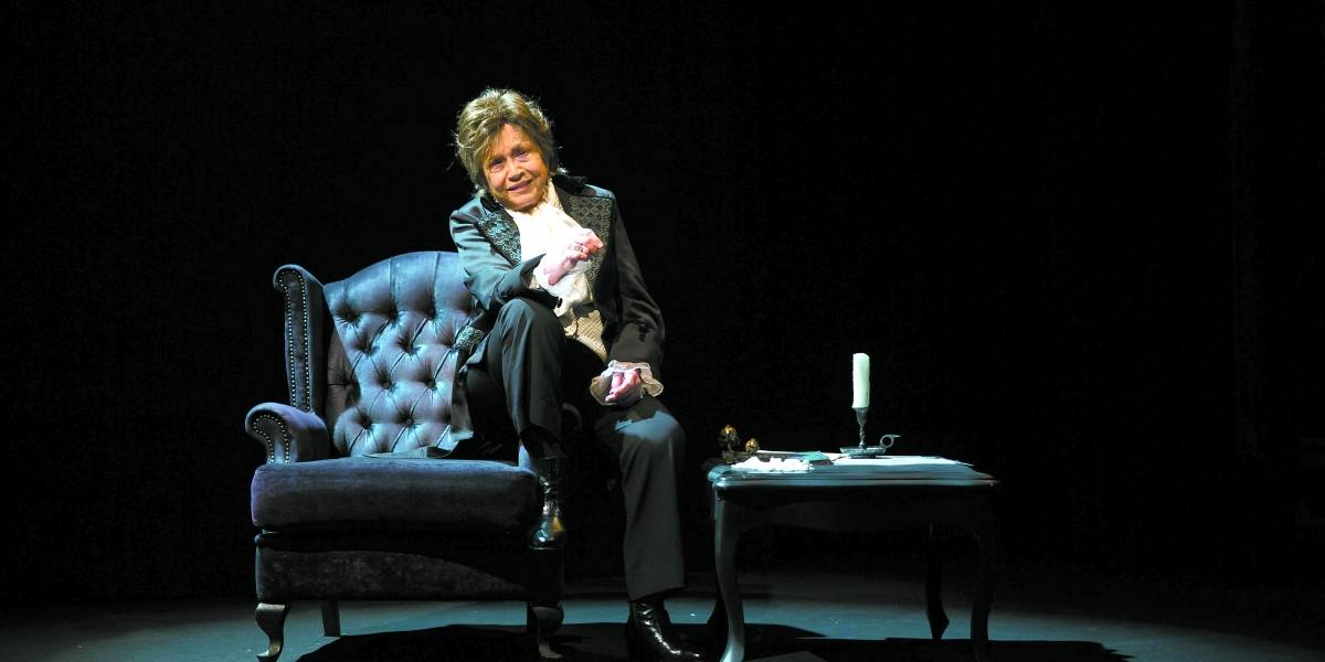 Nathalia Timberg interpreta Chopin em peça de teatro que estreia nesta sexta em SP