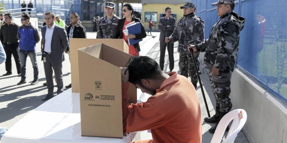 8.981 personas privadas de la libertad dan inicio a la Consulta Popular 2018