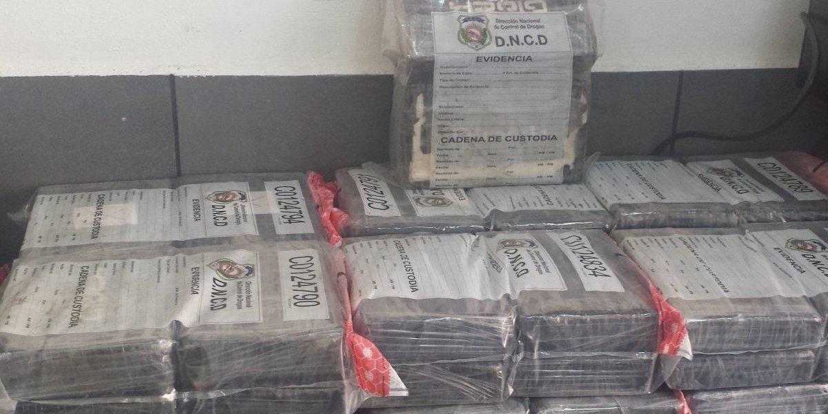 Decomisan 30 kilos de cocaína en el puerto de Haina