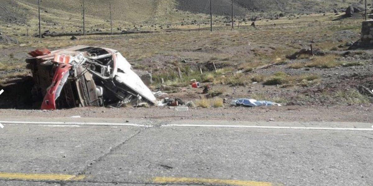 Accidente en Chile deja a tres aprendices de futbol fallecidos