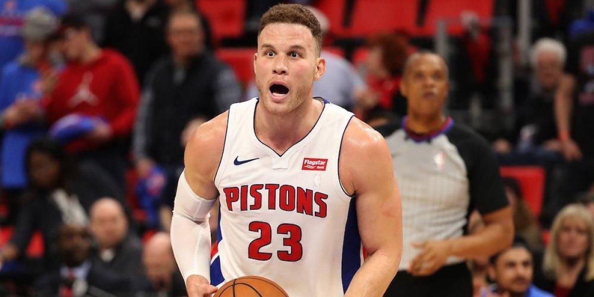 Blake Griffin lidera triunfo de su nuevo equipo los Pistons