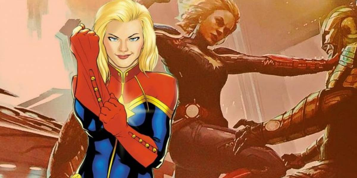 Captain Marvel filtra sus primeras fotos de grabaciones y son extrañas