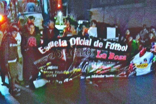 Útima foto que tomó antes de que el bus partiera a Mendoza