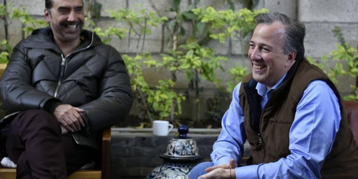 José Antonio Meade se reúne con el 'Potrillo' en Jalisco