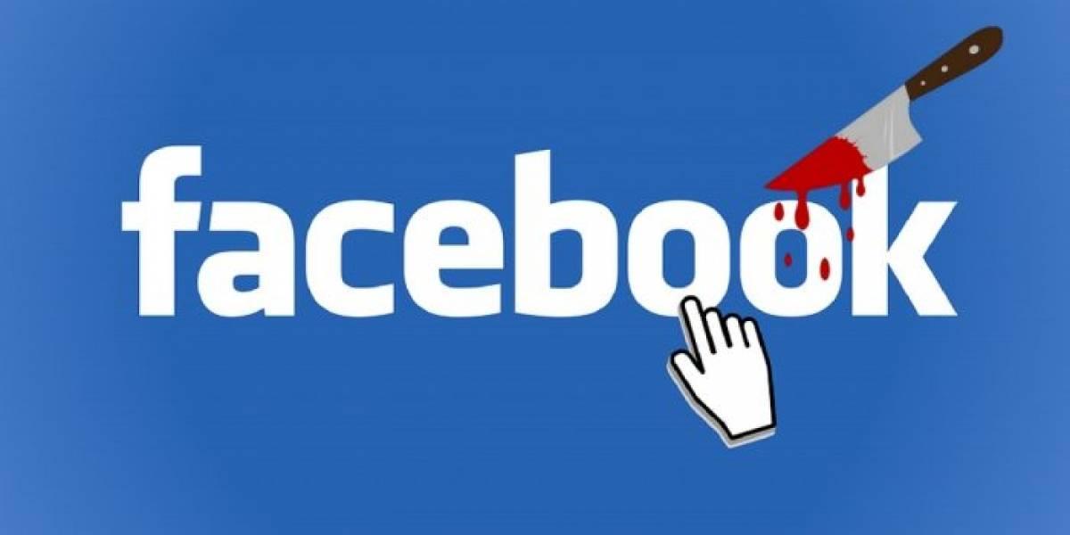 Facebook enfrenta demanda por la transmisión de un homicidio en vivo