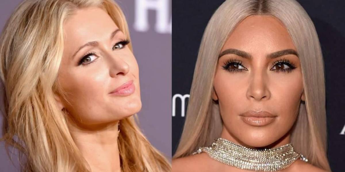 Paris Hilton se caracteriza de Kim Kardashian en campaña de Kanye West