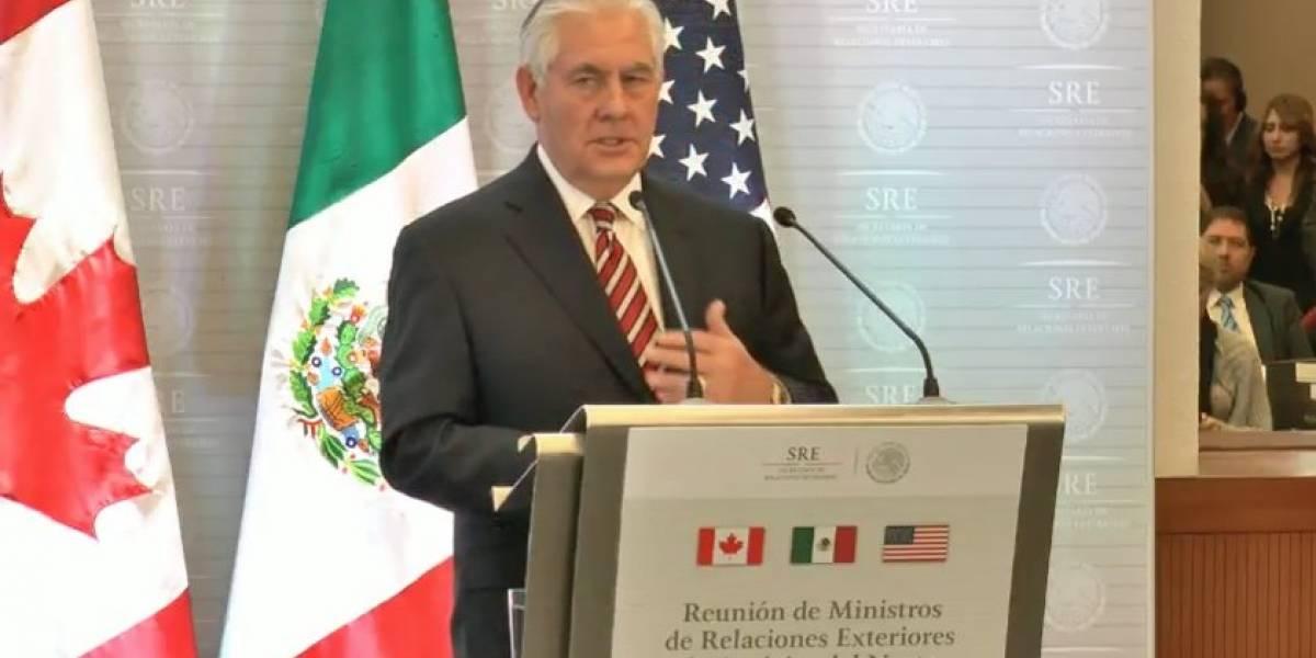 Tillerson advierte sobre posible injerencia rusa en elecciones de México