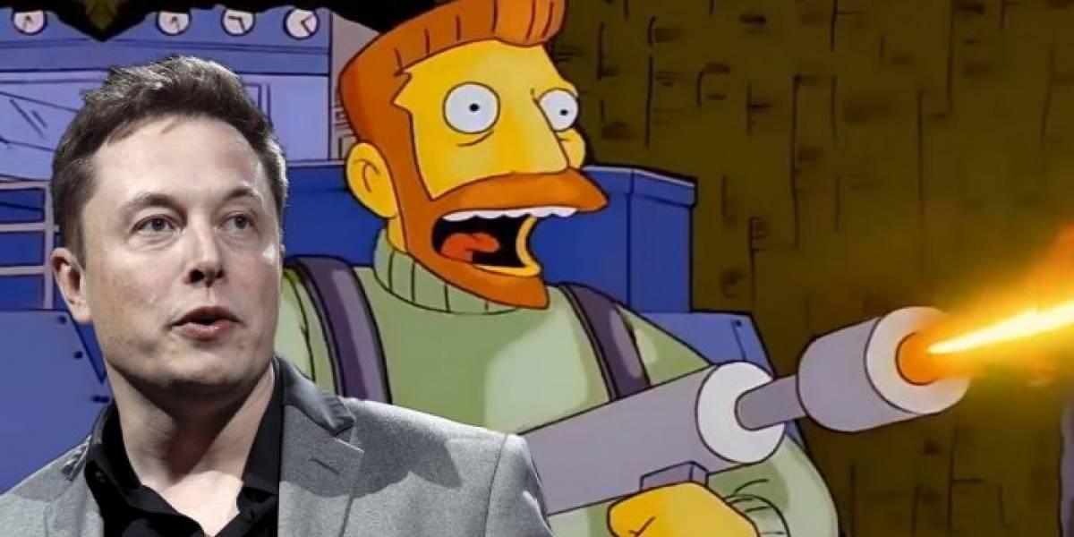 Elon Musk admite que es un villano de Los Simpson