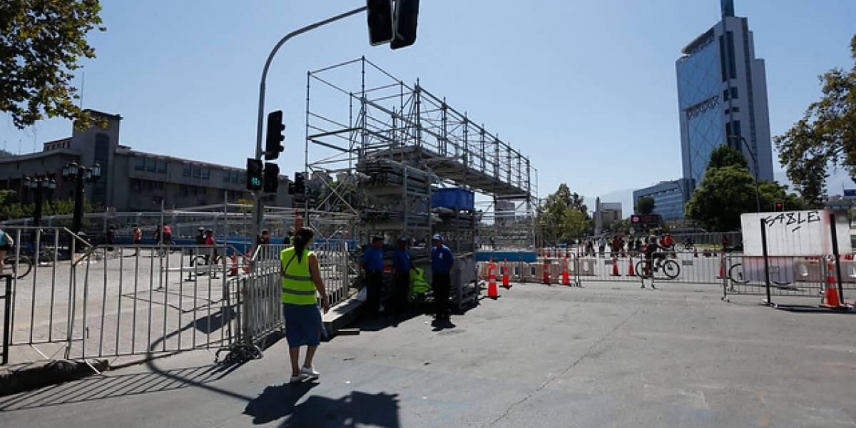 Fórmula E: hoy a mediodía se cierra el circuito y Metro se refuerza