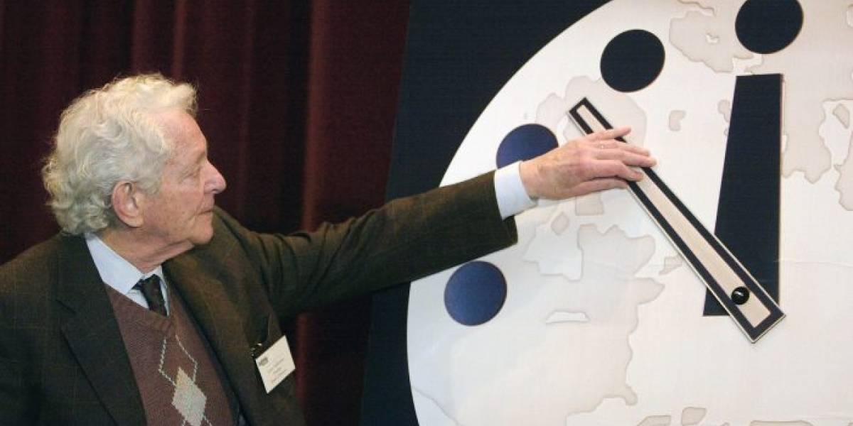Doomsday clock: se adelanta el final de la raza humana