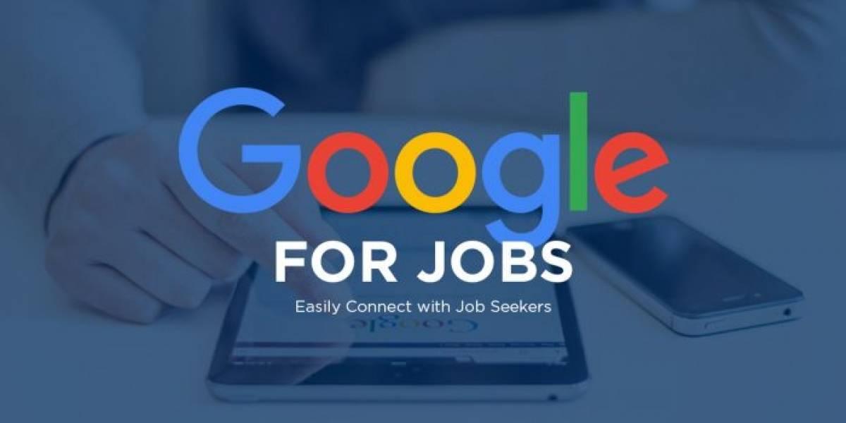 Google lanza en Latinoamérica su herramienta para búsqueda de trabajo