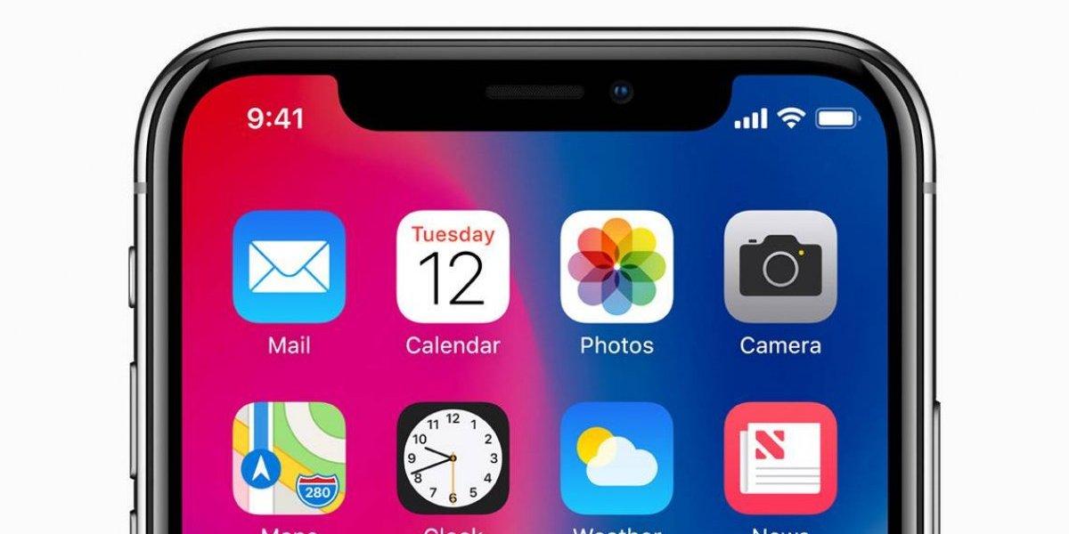 """Apple eliminaría el """"notch"""" de la pantalla del iPhone el próximo año"""