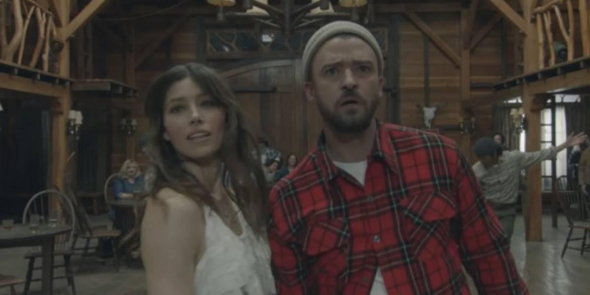 Dança com a esposa é o melhor momento do novo vídeo de Justin Timberlake
