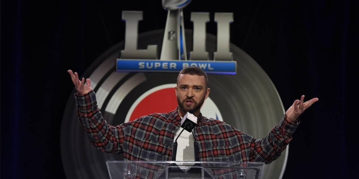 Justin Timberlake promete un regreso a la grande en el Super Bowl LII