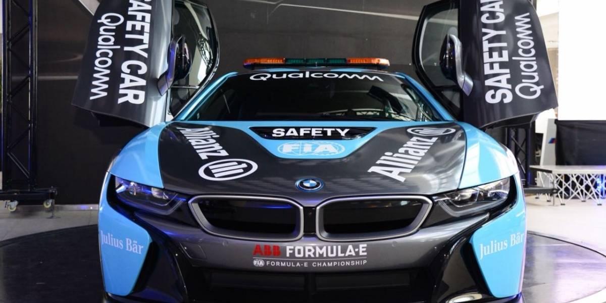 En Chile, BMW estrena el nuevo Safety Car de la Fórmula E