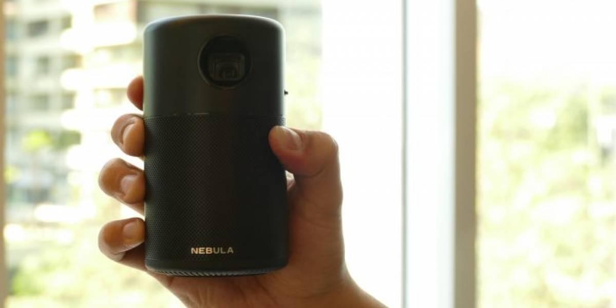 Nebula Capsule, el proyector portátil del porte de una lata de bebida [FW Labs]