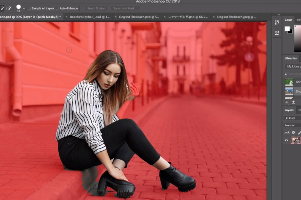 Photoshop CC se actualiza con herramienta Select Subject y soporte 8K