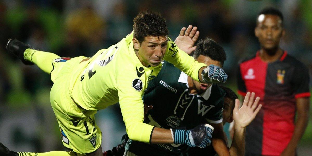 """Viana llegó a desestabilizar el reinado de Castellón en Wanderers: """"Vamos a pelear el puesto palmo a palmo"""""""