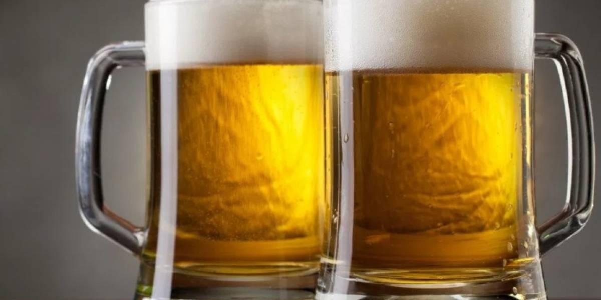 Instrucciones para beber una cerveza