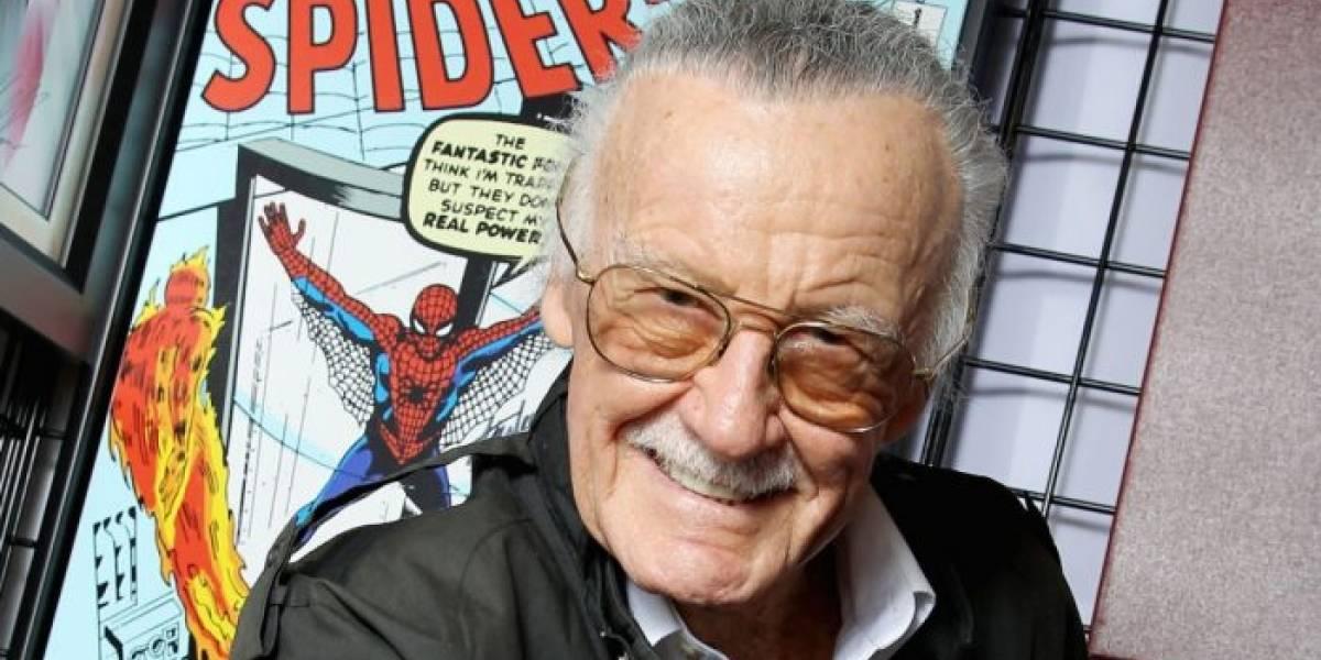 """Stan Lee se siente """"genial"""" tras ser hospitalizado de emergencia"""