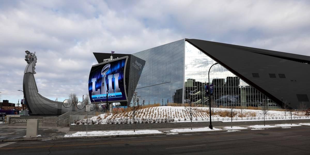 Se jugará el Super Bowl LII con 16 grados bajo cero en Minneapolis
