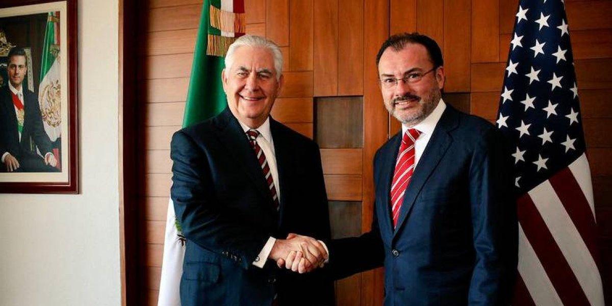 México reconoce el trabajo de Tillerson al frente del Departamento de Estado