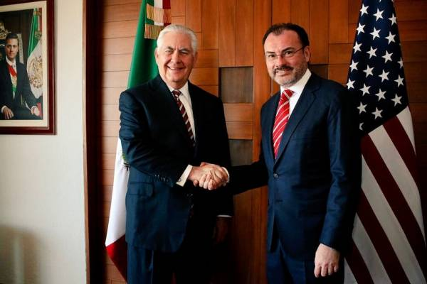 Videgaray y asesores de la Casa Blanca se reunirán en EU