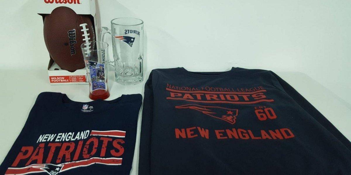 Walmart y Publimetro te regalan un kit para apoyar a los Patriots en el Super Bowl LII