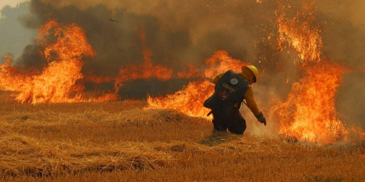 La nueva estrategia para combatir incendios: ahora la lucha es alada y nocturna