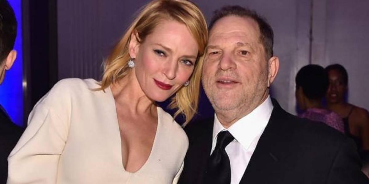 Uma Thurman revela que fue víctima de Weinstein