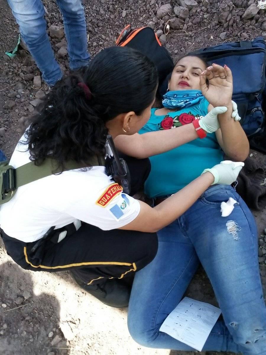 Una mujer viajaba desde el puerto San José, Escuintla, a Esquipulas, Chiquimula.