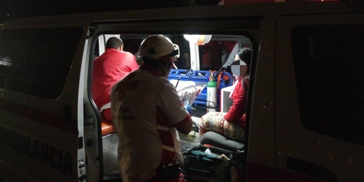 Fallece en hospital niña que sufrió accidente en colisión múltiple sobre Puente Belice