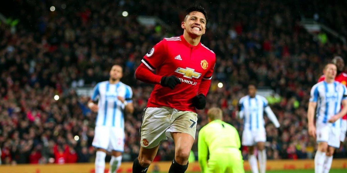 VIDEO: Alexis Sánchez anota su primer gol en victoria del Manchester United