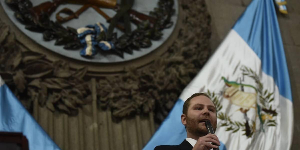 Congreso pagará gastos de Álvaro Arzú Escobar en Jerusalén