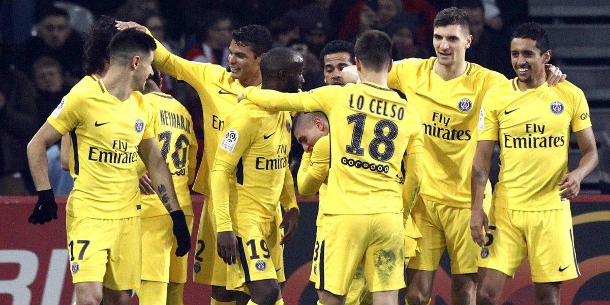 París Saint-Germain ganó y continúa firme en la punta de la Ligue 1