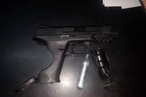 Arma de fuego menor 17 años