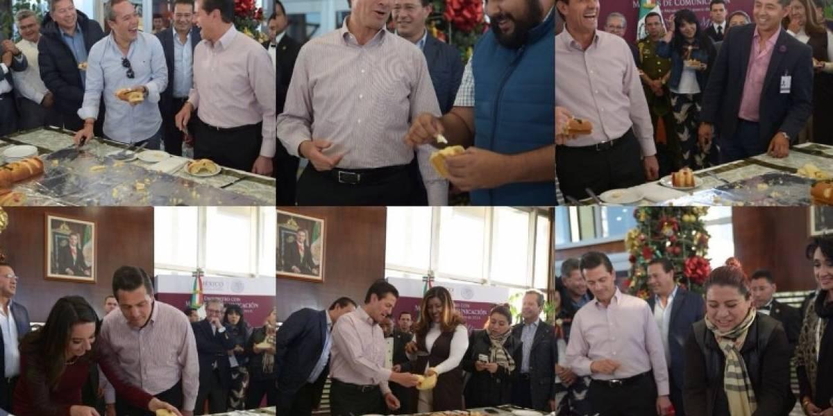Peña Nieto 'quema' a reporteros por no cumplir con los tamales