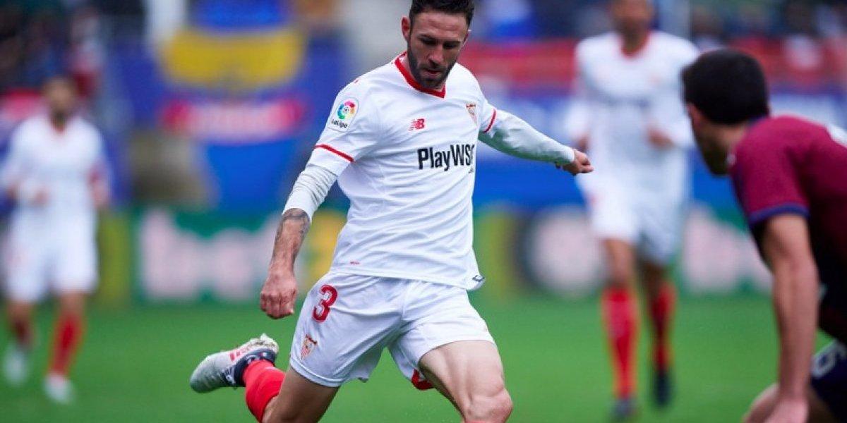 Debut amargo para Miguel Layún con el Sevilla