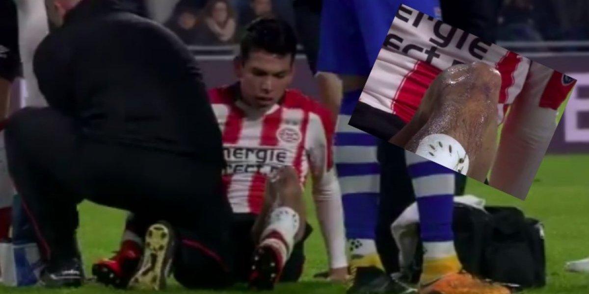 VIDEO: Expulsan a portero rival del PSV por falta sobre 'Chucky'