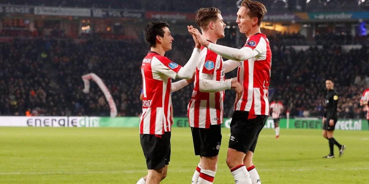 'Chucky' Lozano colabora con dos asistencias en goleada del PSV al Pec