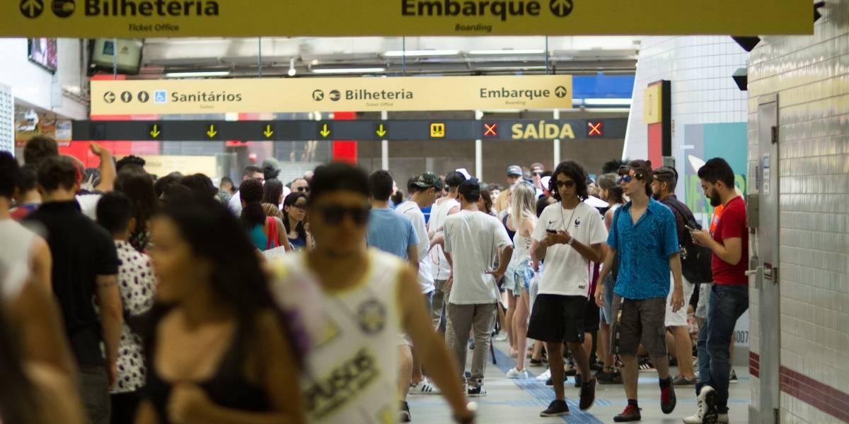 Já curtiu o bloco e vai voltar para casa? Veja como está funcionando o Metrô de São Paulo