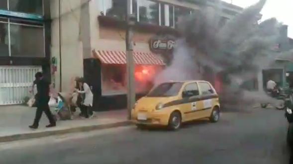 Mark Wahlberg paraliza a Bogotá con estallidos y persecuciones en autos