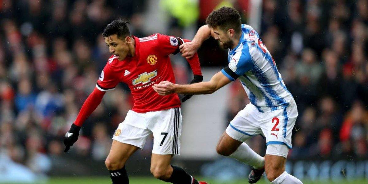 Minuto a minuto: Alexis Sánchez convierte su primer gol con la camiseta del Manchester United
