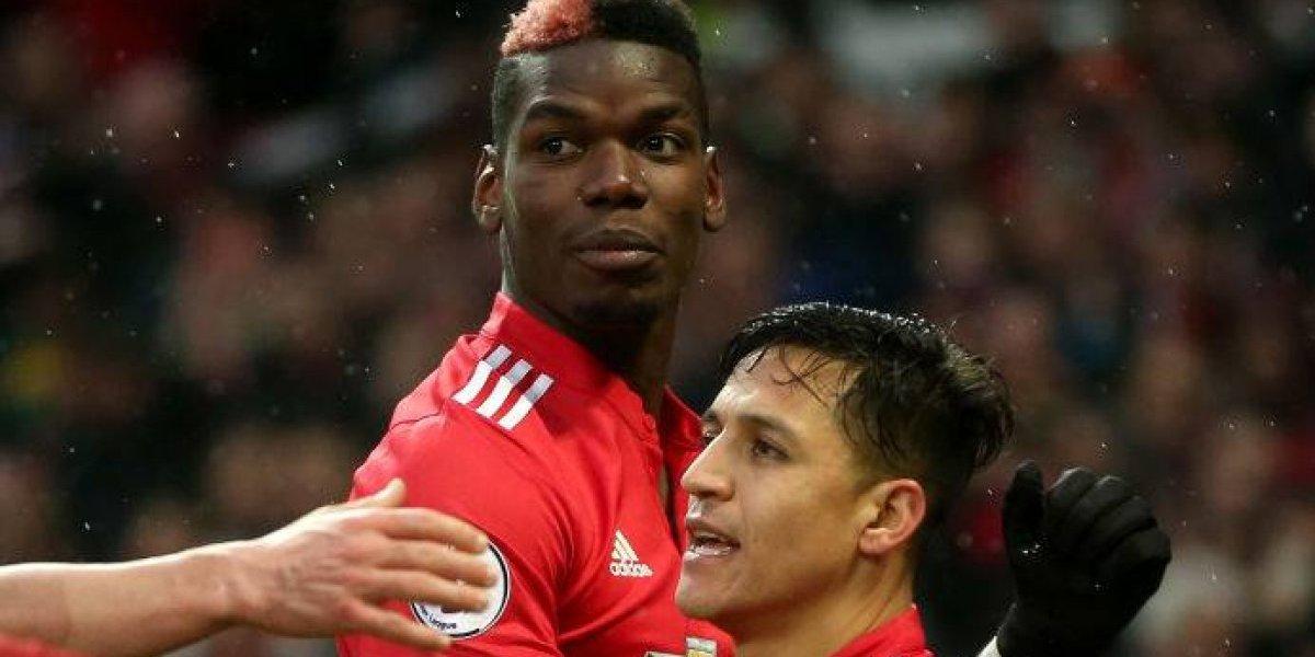 Comenzó con las diabluras: Alexis Sánchez convirtió su primer gol en Manchester United