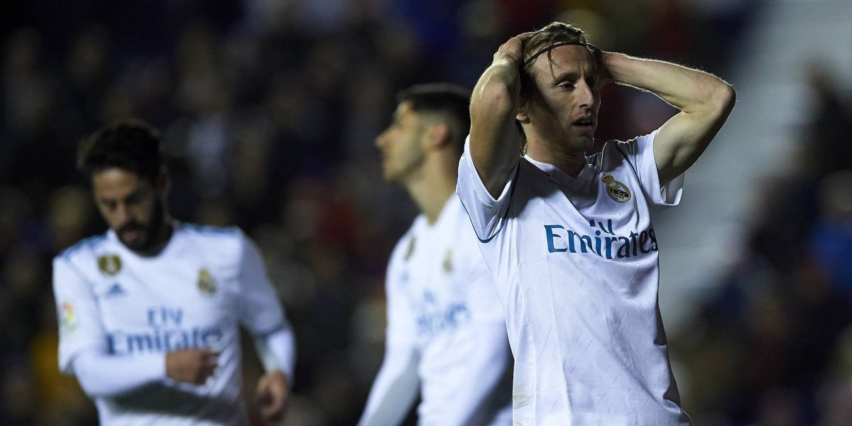 Levante le saca empate al Real Madrid