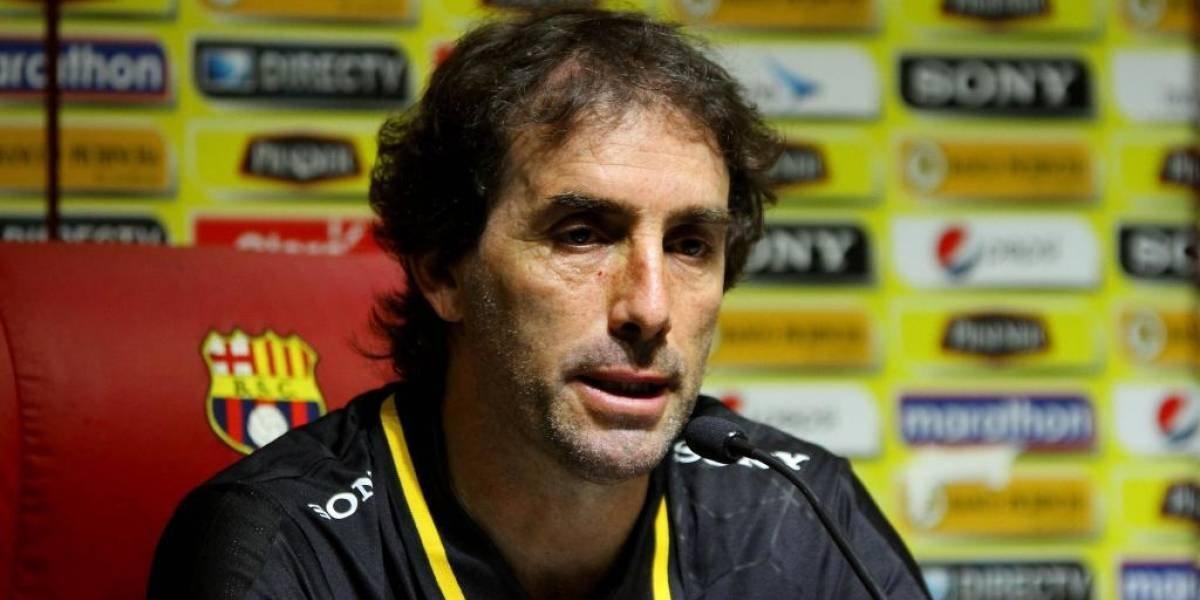 Guillermo Almada, exDT de Barcelona SC, contagiado de COVID-19