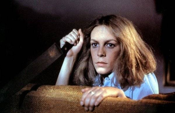 "Jamie Lee Curtis en ""Hallowenn"" 1978"