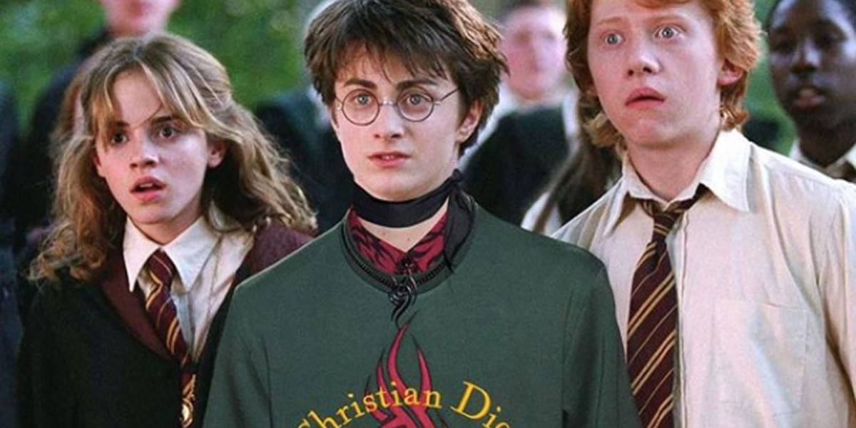 Conta no Instagram une looks da Dior com cenas de 'Harry Potter'