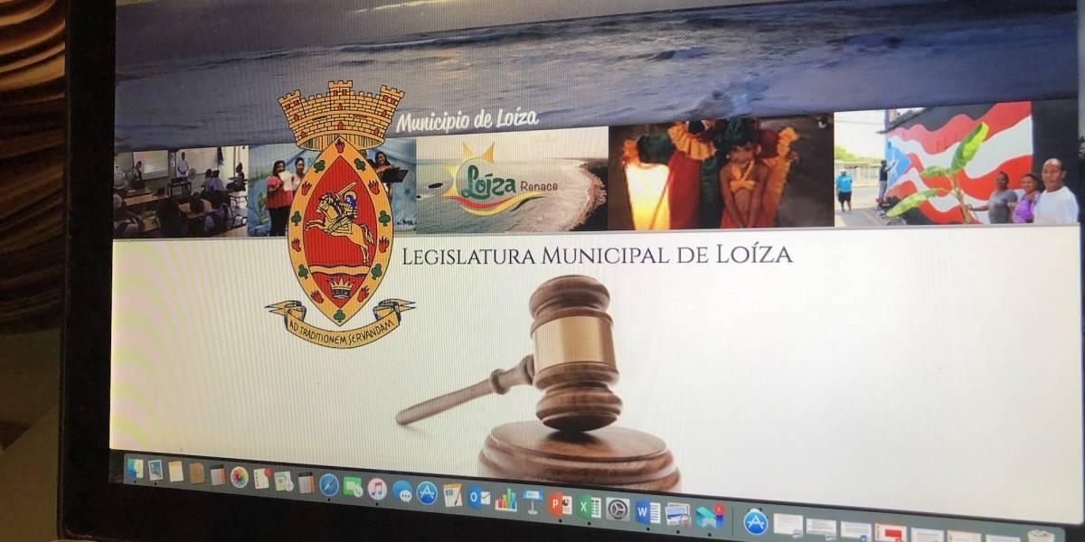 Legislatura Municipal de Loíza inaugura portal de información pública
