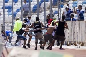 La violencia se tomó Antofagasta / Photosport